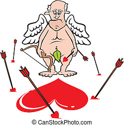 cupid - miss the target - the old asshole and misses target