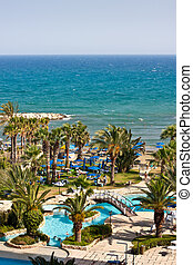 pool and beach - Cyprus pool and beach