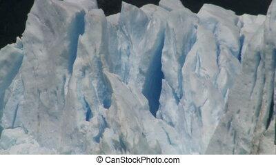"""""""Perito Moreno"""" glacier. Zoom out - """"Perito Moreno"""" glacier,..."""