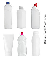 white sanitary hygiene drink bottle product - collection of...