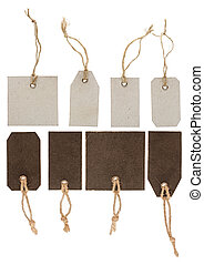blank price tag collection - collection of various price tag...