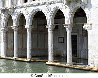 Typical Venetian Colonnade, Venice - Photo of a Typical...