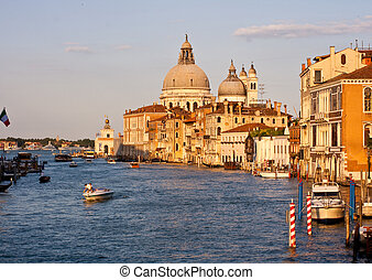 Venice - View of famous Venice lagoon