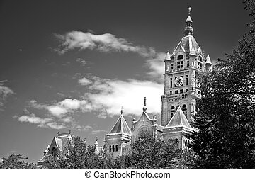County Building in Salt Lake City - City Hall and County...