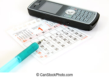 Planning on calender