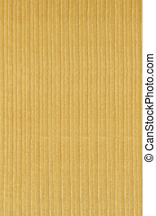 corduroy - Close up of yellow colored corduroy fabric...