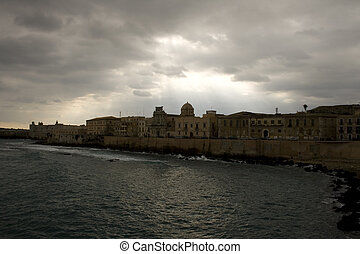 Ortigia, Syracuse - View of Ortigia, Syracuse - Sicily