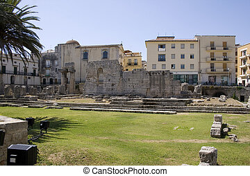Temple of Apollo, Siracusa  - Italy