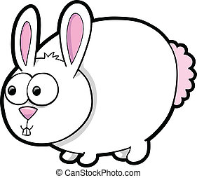 Silly Easter Bunny Rabbit Animal