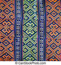 textile design - old tradition textile design of thailand