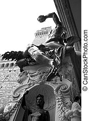 Perseus monument in Florence, Italy