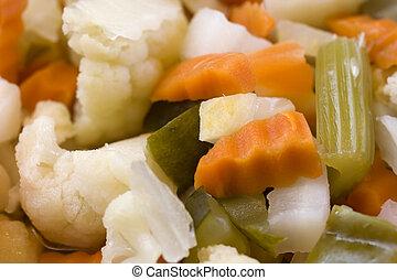 Vinegar pickles - Photo of delicious Vinegar pickles