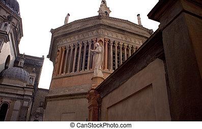 Baptistry, Bergamo Alta - View of Baptistry, Bergamo Alta -...