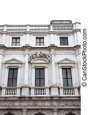 Palazzo nuovo, Bergamo Alta - View of Palazzo nuovo, Bergamo...