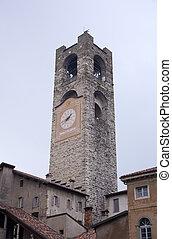 Campanone, Torre civica - Bergamo Alta - Italy