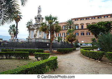 Palace of the Normans - Royal Palace of Palermo - Regional...