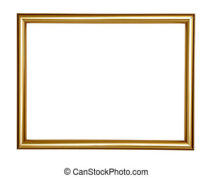 wooden frame grunge - wooden frame for painting or picture...