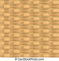 Wicker background - Wicker seamless pattern for organic...
