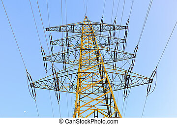 power transmission tower  - power transmission tower
