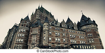 Architecture and Colors of Quebec City, Canada