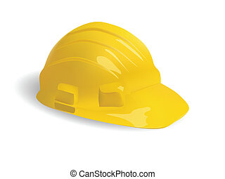 isolated hard hat