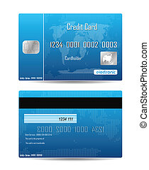 Credit Card Concept Isolated On White