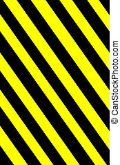 Striped background - Striped vertical yellow and black...