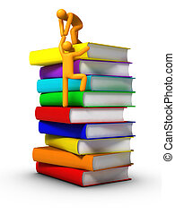 Climbing to the books