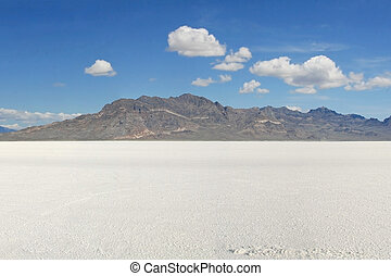 Bonneville Salt Flats #3 - Landscape photo of the Bonneville...