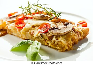 Tasty healthy fish fillet