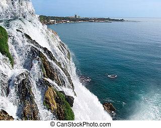 Waterfall Duden at Antalya