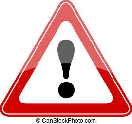 varning, underteckna