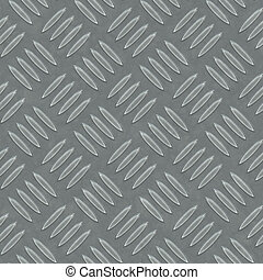 seamless diamond metal plate texture - An image of a...