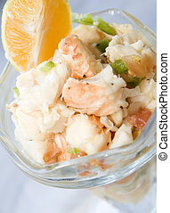 lobster ceviche Corn Island Nicaragua - lobster ceviche food...