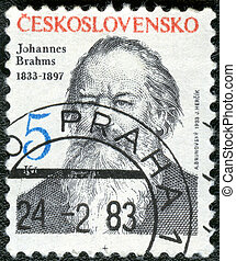CZECHOSLOVAKIA - CIRCA 1983: A stamp printed in...