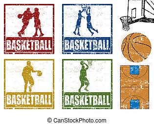 Basketball stamps