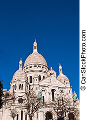Montmartre - The Sacre-Coeur church in Montmartre