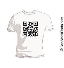 T Shirt qr code