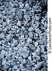 ash - background made of gray ash