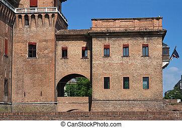Estense Castle. Ferrara. Italy. - Estense Castle. Ferrara....