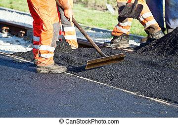 camino, construcción