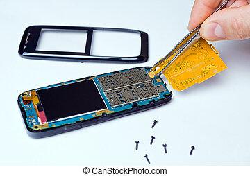 Repairing smart phone