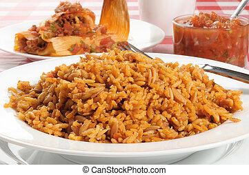español, arroz