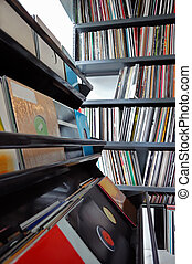 vinyl records collection - Vinyl record collection vintage...
