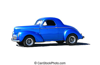 1941 hotrod - Side view of 1941 hot rod made gasser...