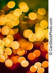 Christmas background - Abstract background of candlelights...