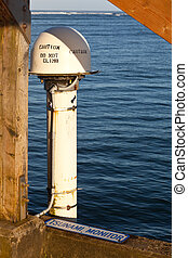 Tsunami Monitor in Hawaii - Tsunami monitor installed on...