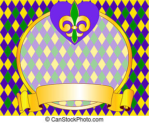 Mardi Gras background design - Mardi Gras background design...