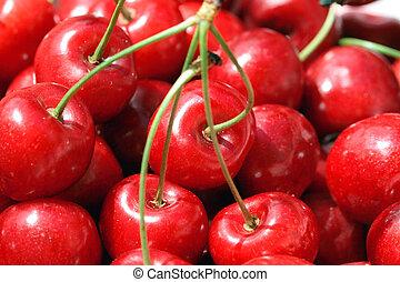 Closeup cherry