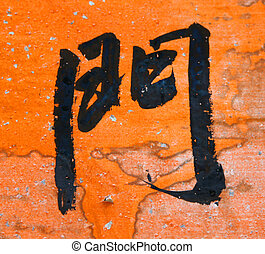 Door word in Chinese